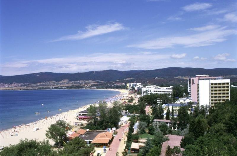 Una playa de Bulgaria en la costa del Mar Negro.