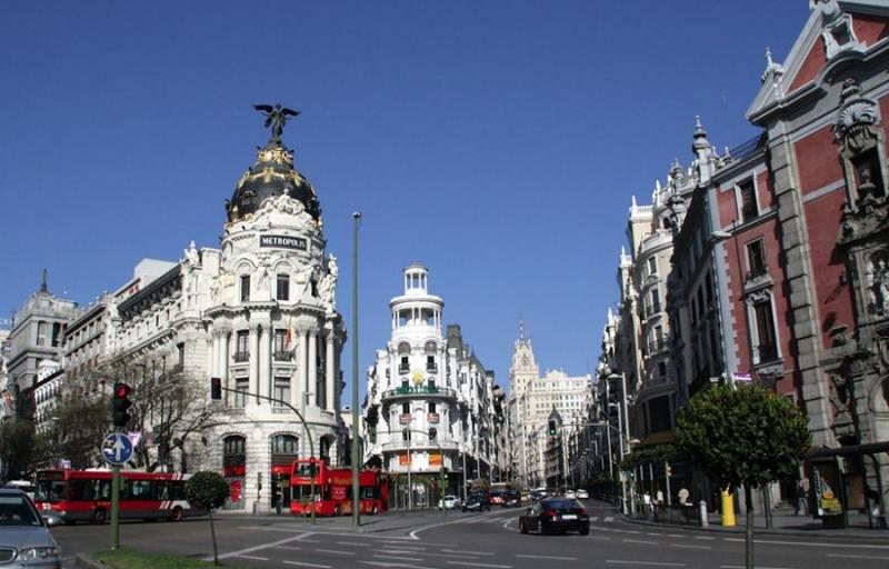 Madrid recibió más de 9,3 millones de turistas en 2017.