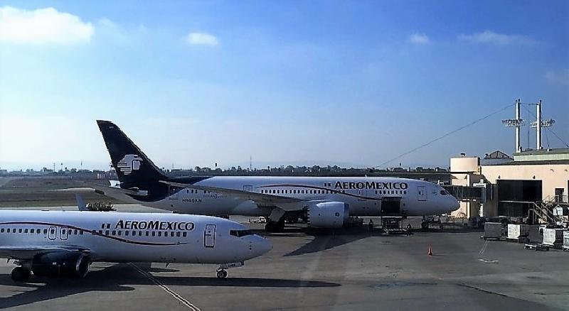 Aeroméxico operará la ruta con sus 787 Dreamliner.