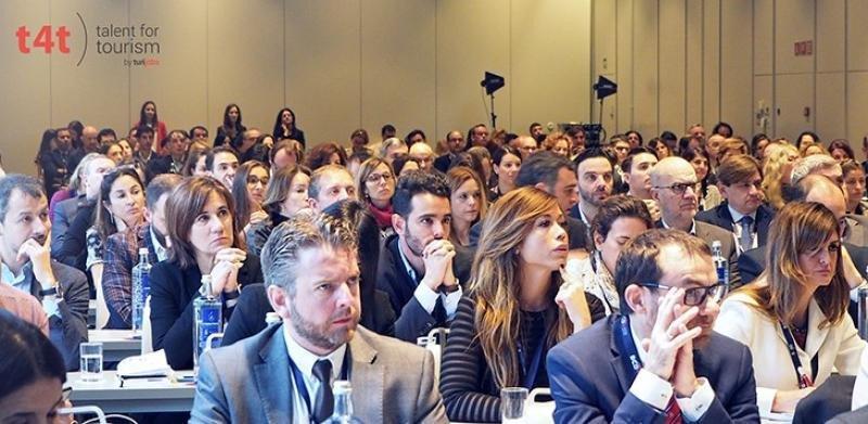 Más de 250 profesionales se citaron en el Hotel NH Collection Constanza de Barcelona  para asistir al congreso Talent for Tourism