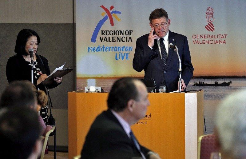Ximo Puig ha encabezado una delegación institucional y comercial de la Generalitat Valenciana a Japón.