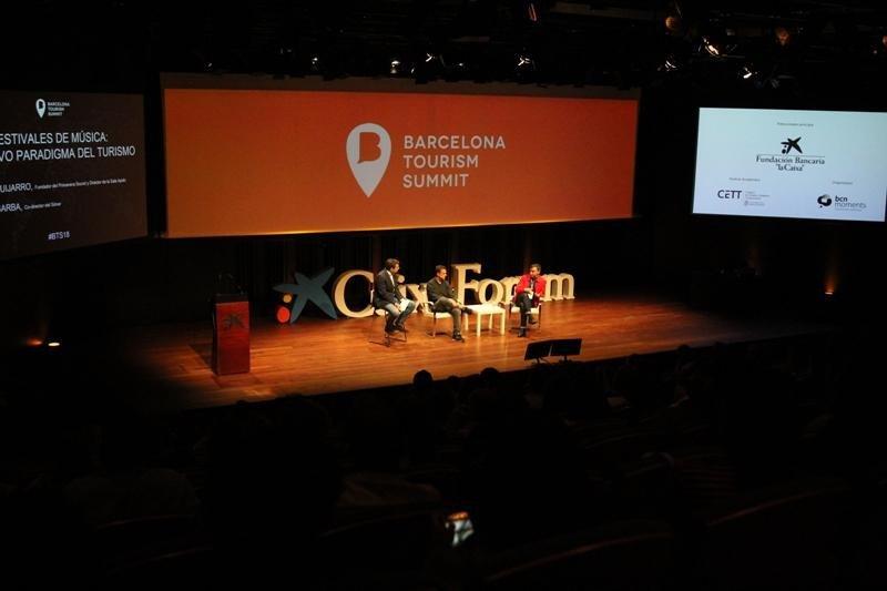 Imagen del Barcelona Tourism Summit 2018.