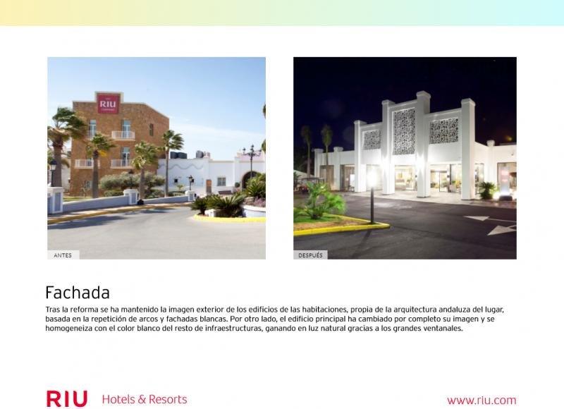 Antes y después del renovado Riu Chiclana