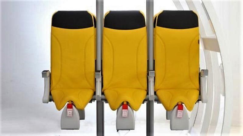 ¿Ir de pie será el futuro en los vuelos?