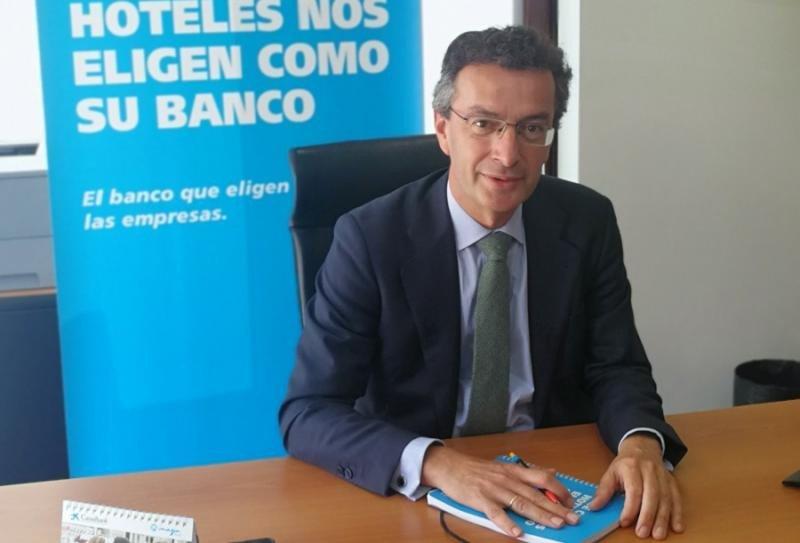 David Rico, director de Turismo de Caixabank