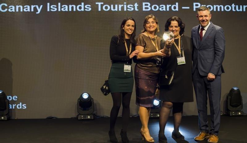 Equipo de Promotur Turismo de Canarias.