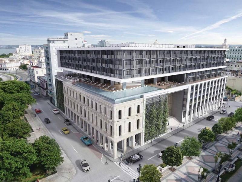 Las obras del Grand Hotel Iberostar Packard finalizarán el próximo mes de agosto
