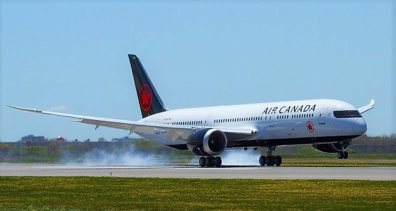 El 787-9 Dreamliner de Air Canada (Foto: Airways Magazine).