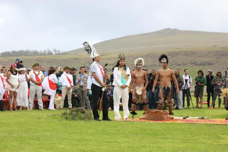 La comunidad Rapa Nui está compuesta por 4.000 integrantes.