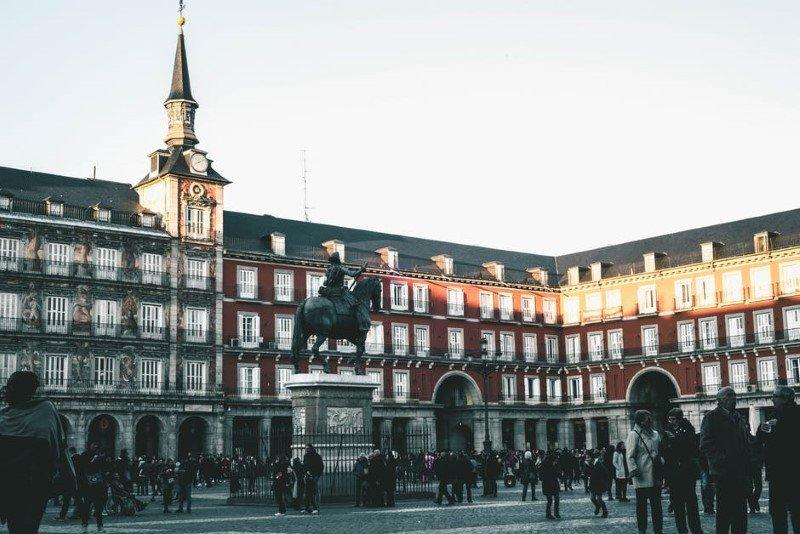La Plaza Mayor de Madrid, en una reproducción de Posterlounge.