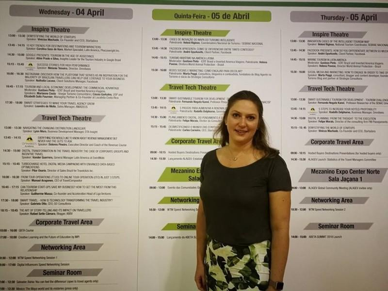 Carolina Sass de Haro, Managing Director de Mapie y especialista del mercado América Latina par Phocuswright.