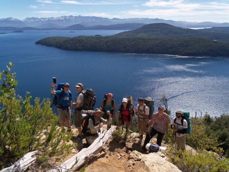 Turistas en Bariloche. Foto: Mintur
