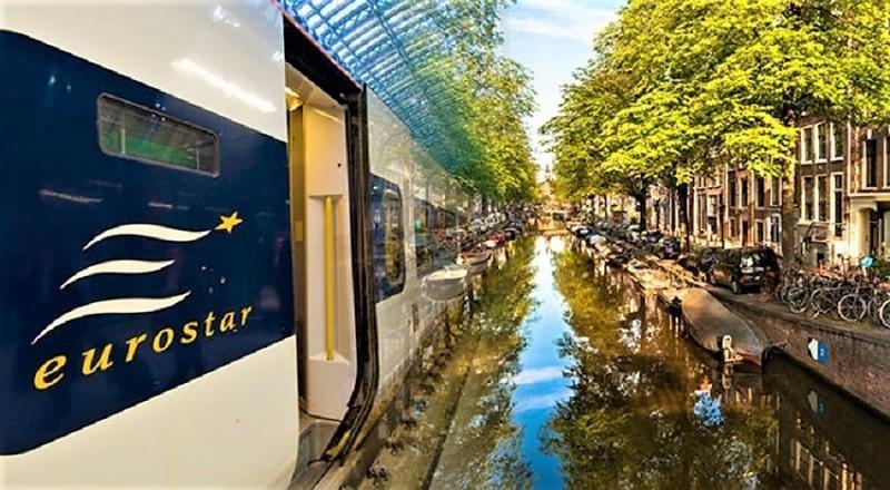 Tren Eurostar conecta Londres con Ámsterdam en menos de cuatro horas