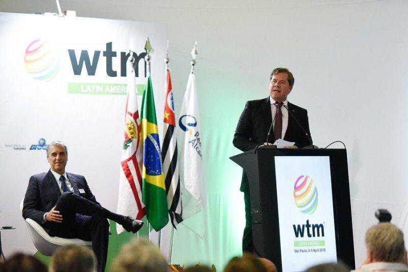 Para acceder al recurso, los interesados tienen que integrar el Mapa del Turismo Brasileño, con 3.285 ciudades y 328 regiones turísticas. Foto: WTM Latin America.