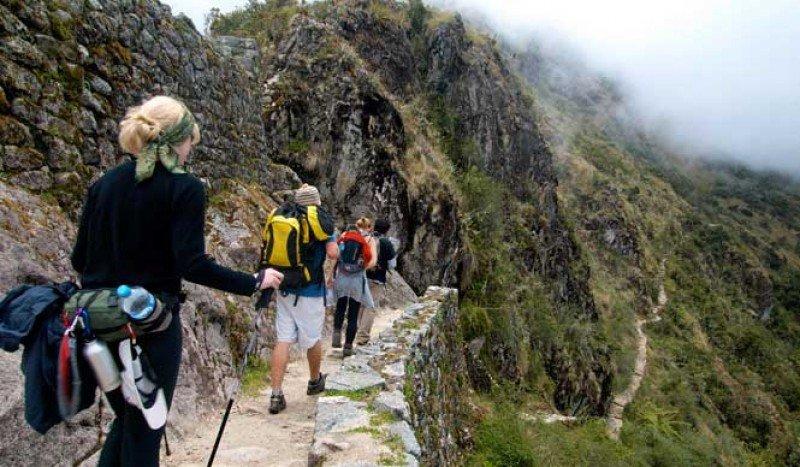 Camino a Machu Picchu. Foto: Incatrail