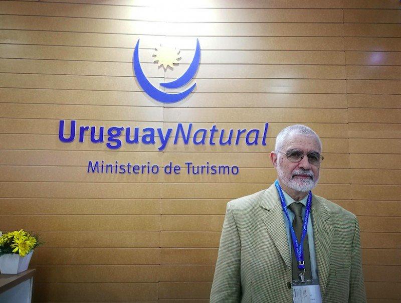 Benjamín Liberoff encabezó la comitiva de Uruguay en WTM Latin America.