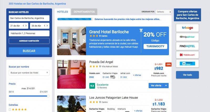 Metabuscador Turismocity impulsa la venta directa de hoteles