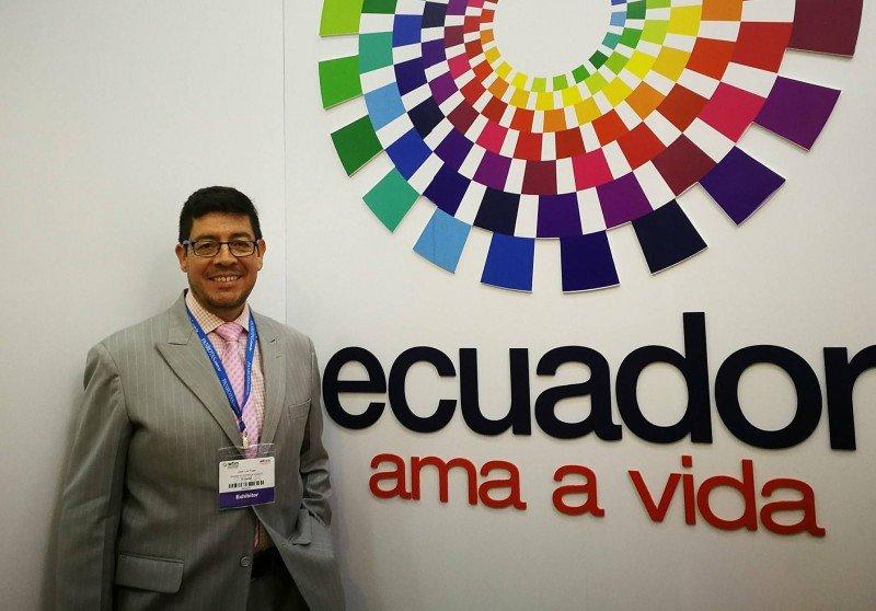 José Luis Egas, asesor del Ministerio de Turismo de Ecuador.