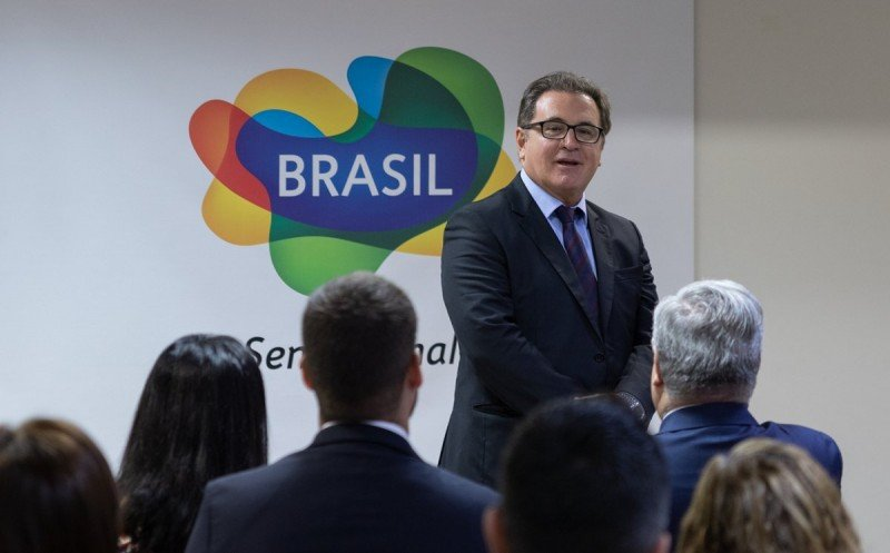 Lummertz se despidió de Embratur y asumió como ministro de Turismo de Brasil.