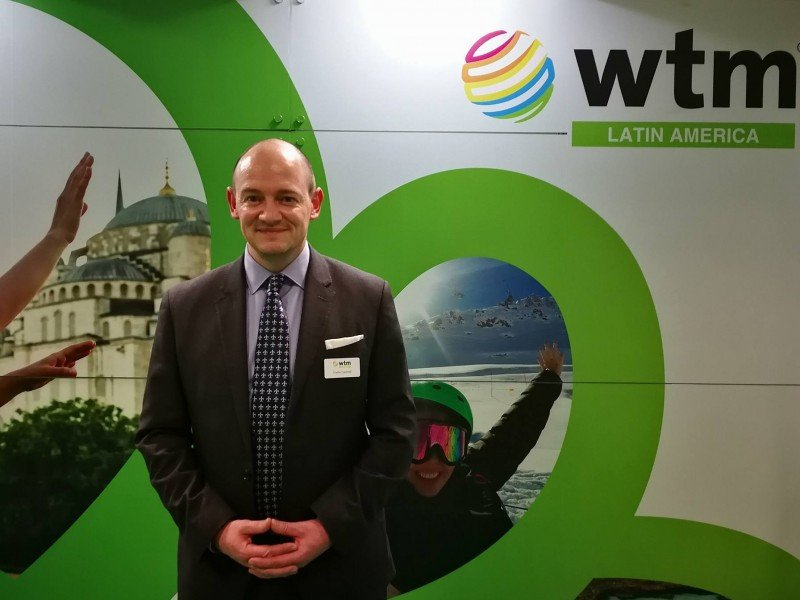 Charlie Cracknell, director senior de Reed Travel Exhibition,
