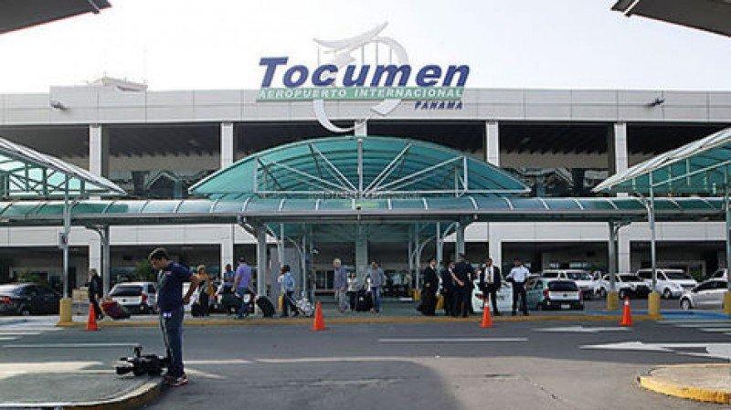Aeropuerto de Tocumen, en Panamá.