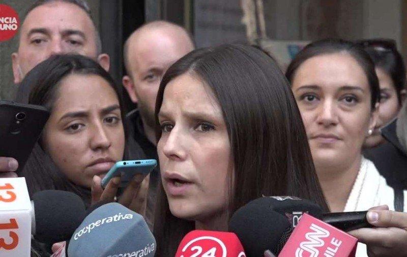 Silka Seitz, presidenta del sindicato de tripulantes de cabina de LATAM Chile.
