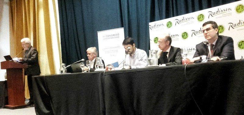 En el panel  de 'Desafíos y amenazas de las nuevas formas de comercializar el turismo' coincidieron Álvaro Moré (Uruguay), Francesco Morandi (Italia) y Diego Benítez (Argentina).