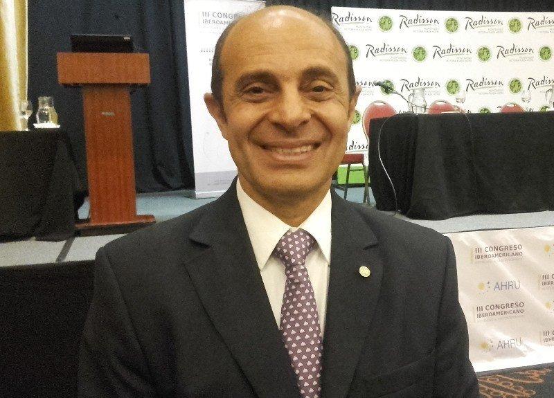 Aldo Elías estuvo en Montevideo para la firma de constitución de la FEDESUD.