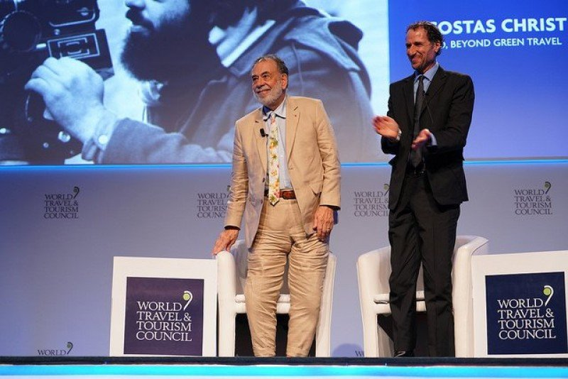 Francis Ford Coppola le puso el broche de oro a la Cumbre del WTTC