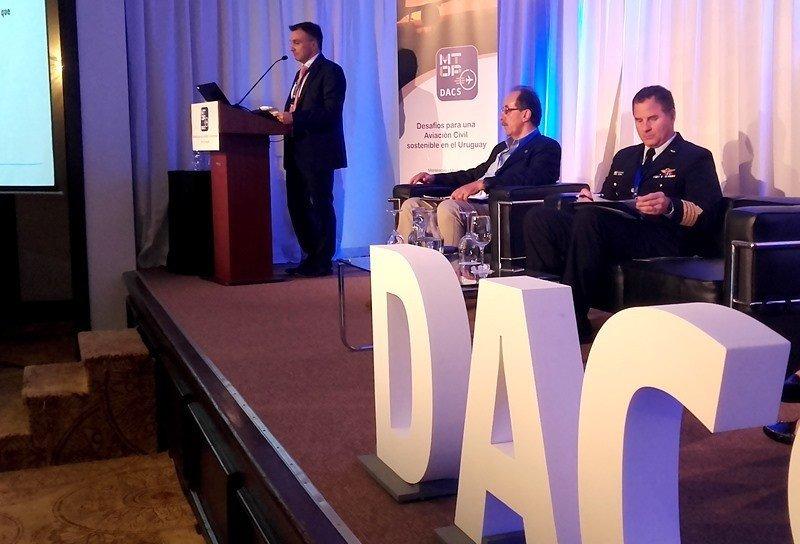director legal y miembro del Consejo de ALTA, expuso en el Foro DACS de Montevideo. Foto: J. Lyonnet