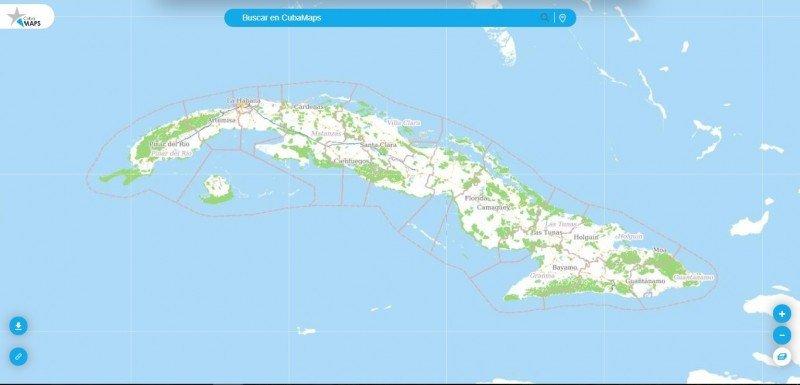 Cuba ofrece un nuevo mapa digital para el turismo