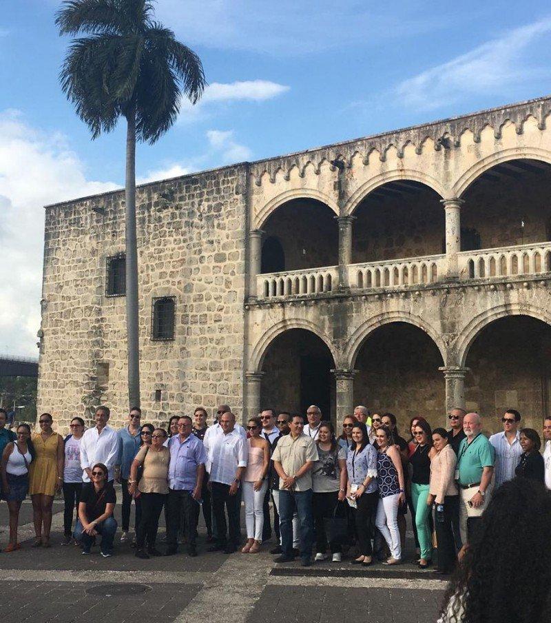 Los representantes de turismo de SICA se reunieron en Santo Domingo.