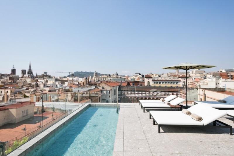 El Yurbban Passage Hotel, uno de los nuevos establecimientos que abrió sus puertas en Barcelona en 2017.