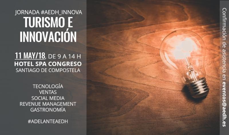 AEDH Innova se celebra el 11 de mayo en Santiago de Compostela