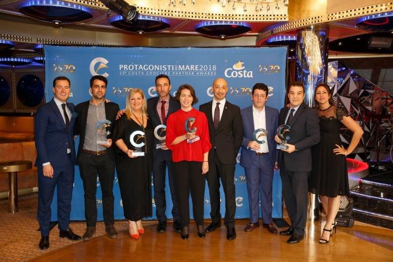 Costa Cruceros entrega sus premios Protagonistas del Mar