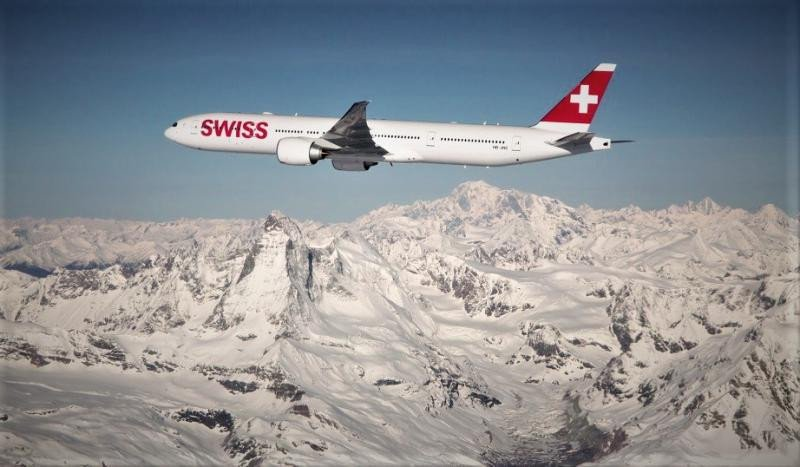 El pedido incluye dos aviones de largo radio Boeing 777-300 ER para Swiss.