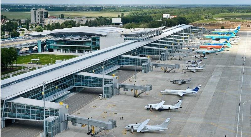 Aeropuerto de Kiev.