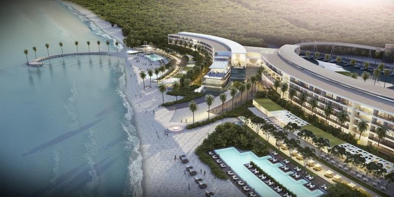 El Paradisus Playa Mujeres tiene prevista su apertura este año.