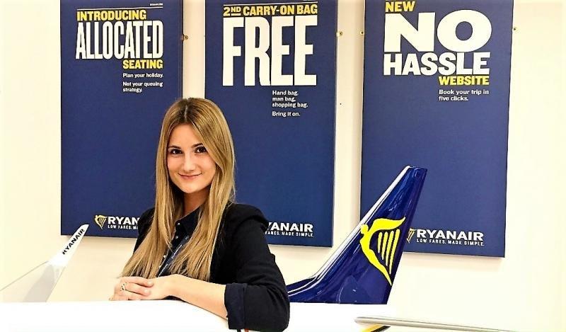 Ryanair nombra una nueva Sales