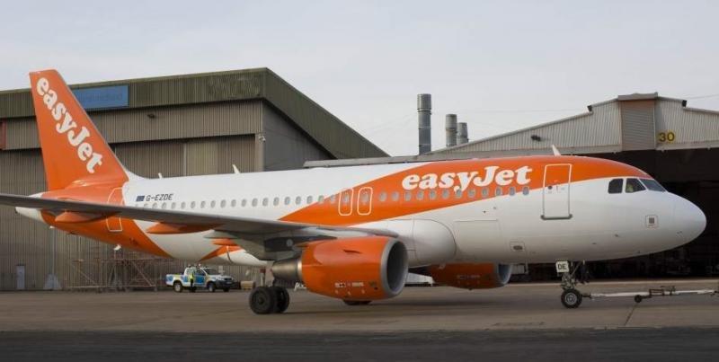 easyJet pierde 61 millones de euros en seis meses