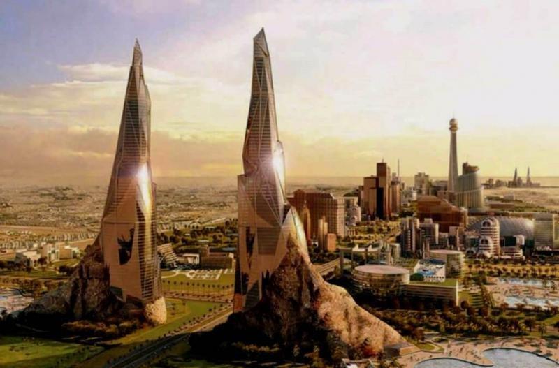 Bawadi Project, localizado en Dubai.