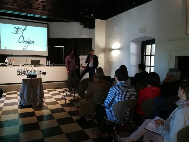Jaime Chicheri y Juan Carlos Sanjuan (de izqu. a dcha.).