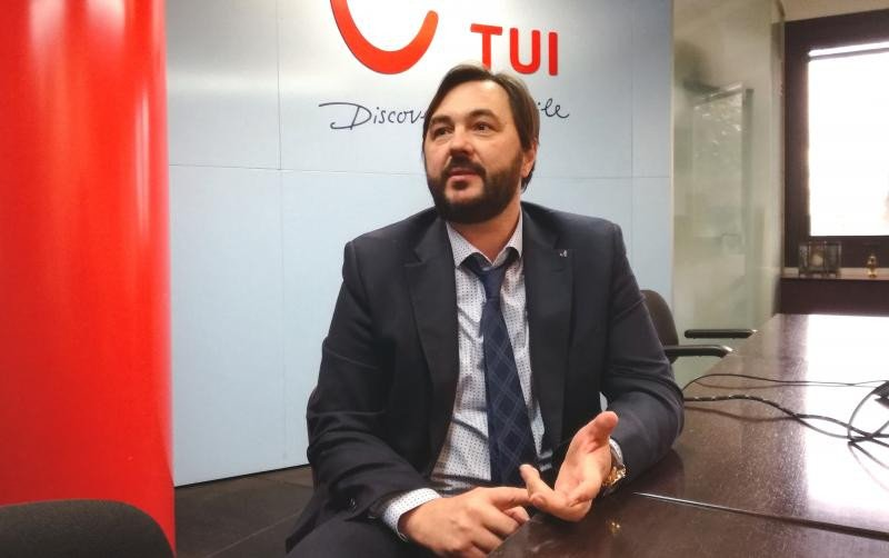 Eduard Bogatyr, director general de TUI Spain.