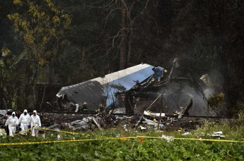 Se estrella en La Habana un avión con 110 personas y hay 3 supervivientes