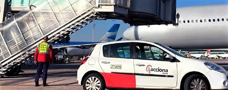 Acciona hará el handling de Aerolíneas Argentinas en Santiago de Chile