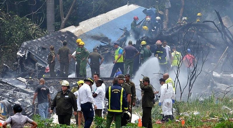 Accidente aéreo en Cuba: mueren 107 personas (Foto: AFP).