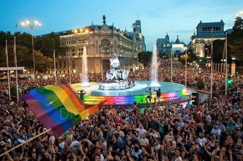 En 2017, Madrid fue sede del World Pride.