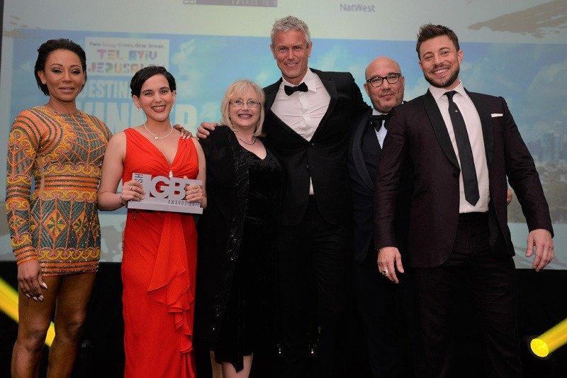 Los representantes de Tel Aviv recogen el premio al destino preferido por la comunidad LGBT.