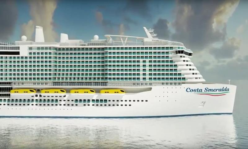 Costa Cruceros invertirá 1.000 M € en el nuevo Costa Smeralda