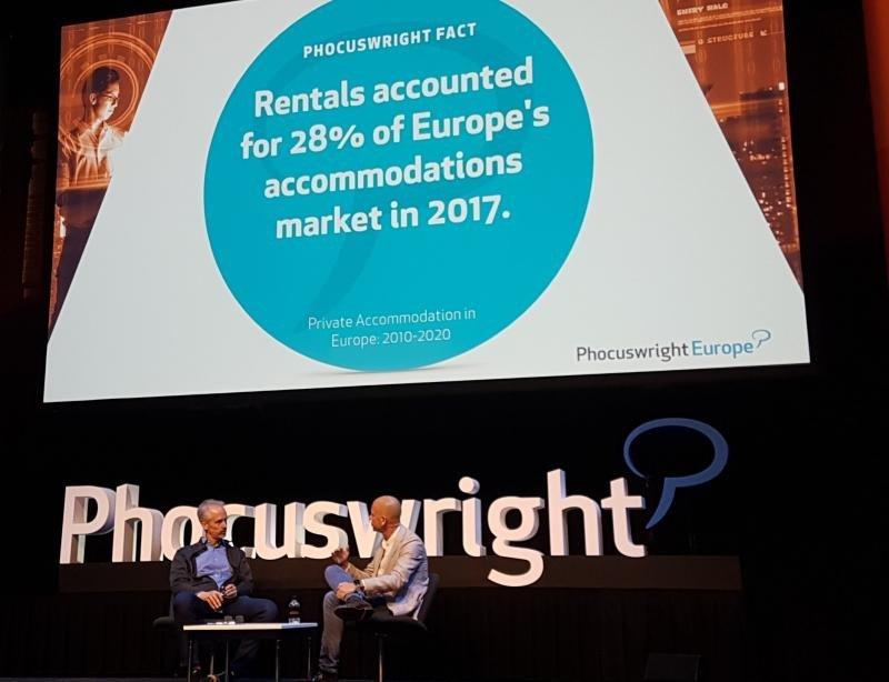 Jeroen Merchiers participó en la conferencia Phocuswright Europe.